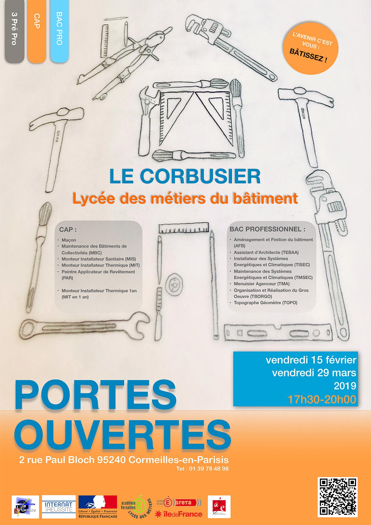 Portes Ouvertes 2019 Lycée Le Corbusier
